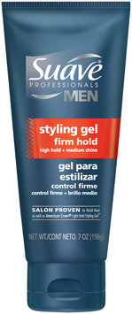 Suave® Professionals Men Firm Hold Styling Gel 7 oz. Tube