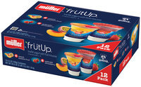Muller® FrutUp™ Peach Passion Fruit/Splendid Strawberry Lowfat Yogurt with Fruit Mousse Variety Pack