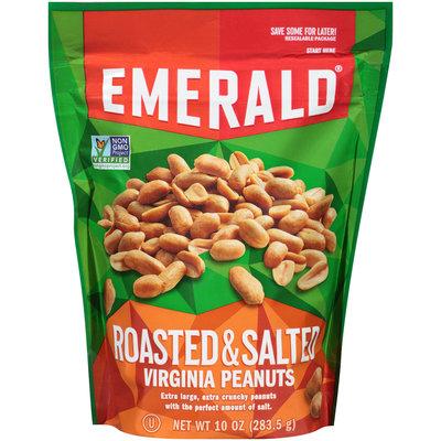 Emerald® Roasted & Salted Virginia Peanuts 10 oz. Stand-Up Bag