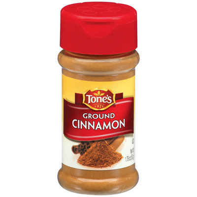 Tone's Ground Cinnamon 1.76 Oz Shaker