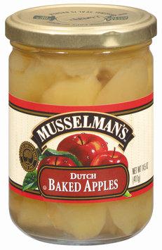 Musselman's Dutch Baked Apples 14.5 Oz Jar