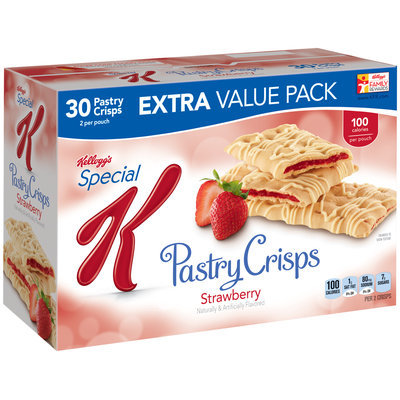 Special K® Kellogg Strawberry Pastry Crisps
