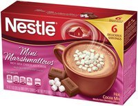 Nestlé HOT COCOA Mix Mini Marshmallows Flavor 4.27 oz Box, 12 count