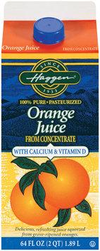 Haggen W/Calcium & Vitamin D Orange Juice 64 Oz Carton