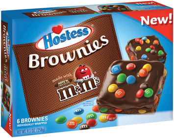 Hostess® Brownies Made With Real M&M's® 9.1 oz. Box