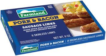 Farmland® Pork & Bacon Sausage Links 8 ct Box
