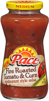 Pace® Fire Roasted Tomato & Corn 16 oz. Jar