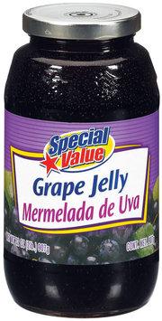 Special Value Grape Mermelada De UVA Jelly 32 Oz Jar