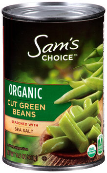 Sam's Choice™ Organic Cut Green beans 14.5 oz. Can