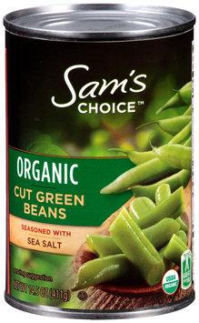 Sam's Choice™ Organic Cut Green beans 14.5 oz. Can