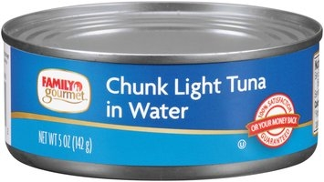 Family Gourmet™ Chunk Light Tuna in Water 5 oz. Can