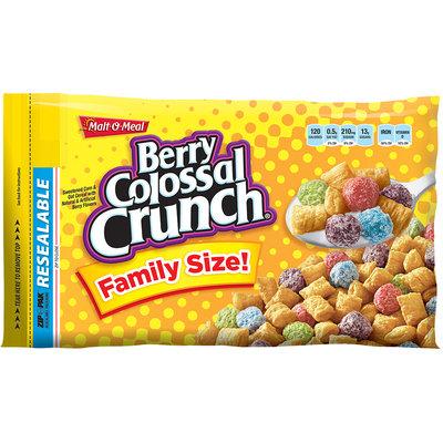 Malt-O-Meal® Berry Colossal Crunch® Cereal 26.2 oz. ZIP-PAK®
