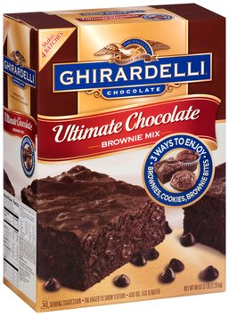 Ghirardelli® Ultimate Chocolate Brownie Mix 80 oz. Box