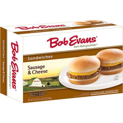 Bob Evans® Sausage & Cheese Sandwiches 19.2 oz Box