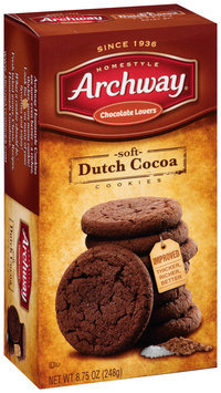 Archway® Homestyle Chocolate Lovers Soft Dutch Cocoa Cookies 8.75 oz. Box
