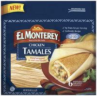 El Monterey Chicken 6 Ct Tamales 24 Oz Bag