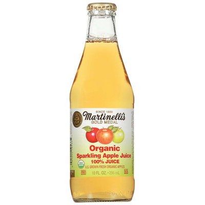 Martinelli's Gold Medal® Organic Sparkling Apple 100% Juice 10 Oz Bottle