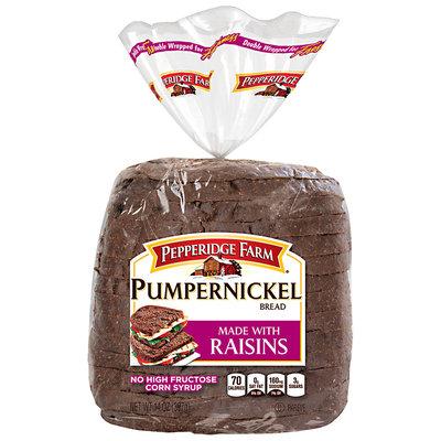 Pepperidge Farm® Pumpernickel Bread Made with Raisins 14 oz. Loaf
