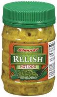 Schnucks Hot Dog Relish 10 Fl Oz Plastic Jar