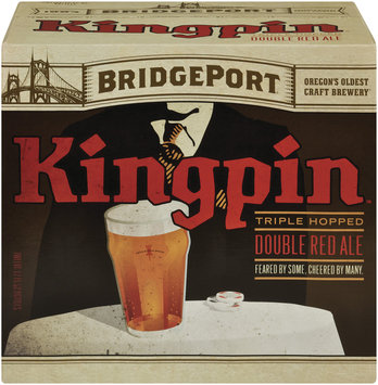 Bridgeport Kingpin 12 Oz Beer 12 Pk Glass Bottles