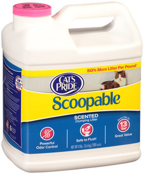 Cat's Pride® Scoopable Scented Clumping Litter 8 lbs. Jug