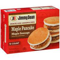 Jimmy Dean® Maple Pancake Maple Sausage Snack Size Pancake Sandwich 10 ct Box