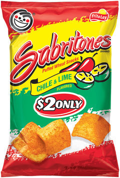 sabritones® chile & lime puffed wheat snacks