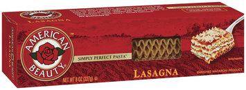 American Beauty  Lasagna 8 Oz Box