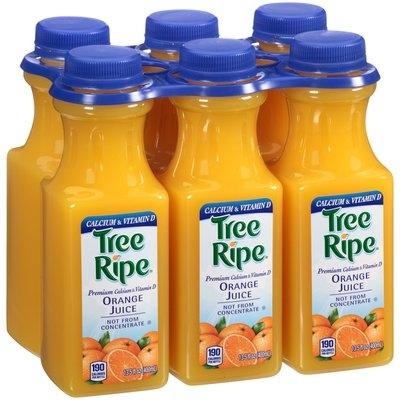 Tree Ripe® Premium Calcium & Vitamin D Orange Juice