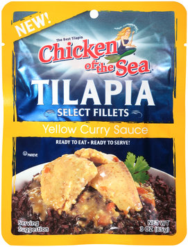 Chicken of the Sea® Select Fillets Tilapia in Yellow Curry Sauce 3 oz. Pouch