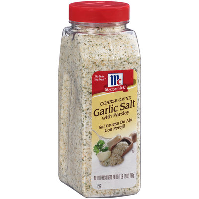 McCormick® Coarse Ground Garlic Salt with Parsley