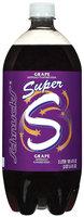 Schnucks Grape Super S Soda 3 L Plastic Bottle