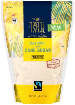 Tate + Lyle® Natural Pure Cane Sugar 4 lbs. Bag