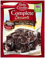 Betty Crocker™ Complete Desserts Triple Chocolate Hot Fudge Cake Mix