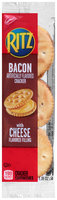 Nabisco Ritz Bacon Crackers with Cheese Filling Cracker Sandwiches 1.35 oz. Pack