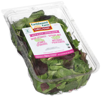 Earthbound Farm® Organic Half & Half Baby Spinach/Spring Mix