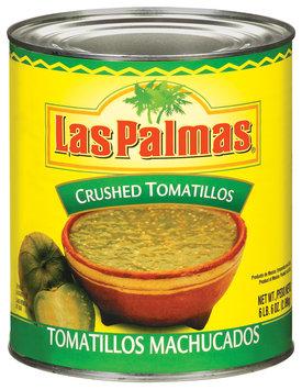 Las Palmas Crushed Tomatillos 102 Oz Can