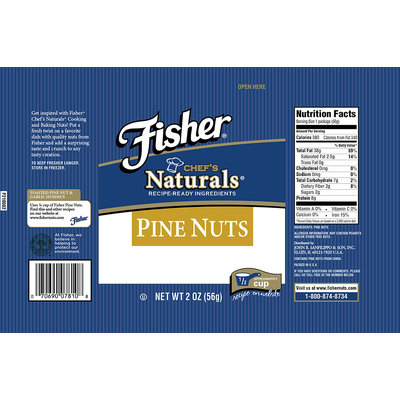 Fischer® Chef's Naturals® Pine Nuts 2 oz Bag
