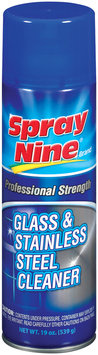 Spray Nine® Professional Strength Glass & Stainless Steel Cleaner 19 Oz Aerosol Can