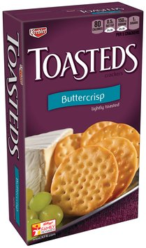 Keebler® Toasteds® Buttercrisp Crackers 8 oz. Box