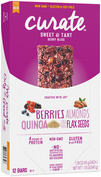 Curate™ Berry Bliss Snack Bars 12-1.59 oz. Packs