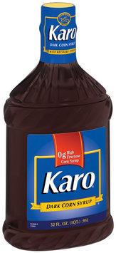 Karo Dark W/Refiners' Syrup Corn Syrup 32 Oz Plastic Bottle