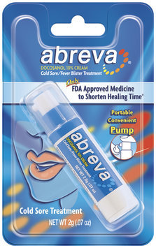 abreva pump cold sore / fever blister