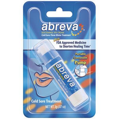 Abreva Pump Cold Sore / Fever Blister 2 G
