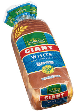 Springfield Giant White Bread 24 Oz Loaf
