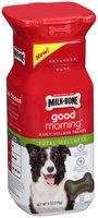 Milk-Bone® Good Morning™ Daily Vitamin Total Wellness Dog Treats 6 oz. Plastic Container