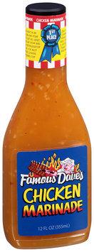 Famous Dave's® Chicken Marinade 12 fl. oz. Bottle