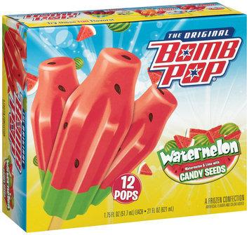 Bomb Pop® Watermelon Frozen Confection 12-1.75 fl. oz. Pops