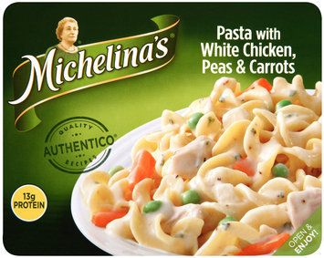 Michelina's® Pasta with White Chicken, Peas & Carrots 8 oz. Tray