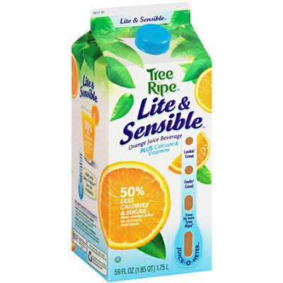 Tree Ripe Lite & Sensible Orange Juice Beverage Plus Calcium & Vitamins